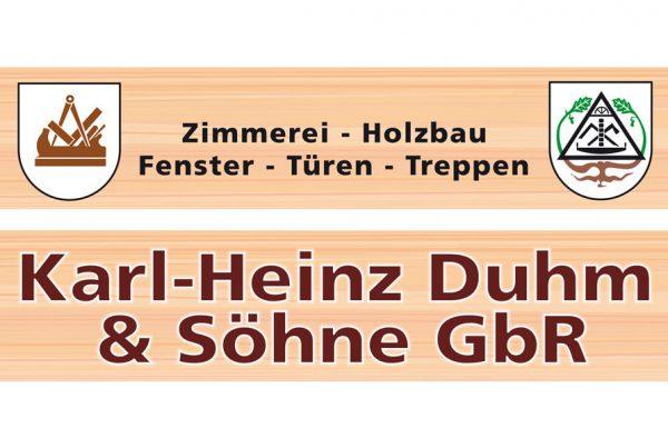 Karl-Heinz Duhm & Söhne GbR Inh. Karsten & Uwe Duhm Zimmerei & Holzbau