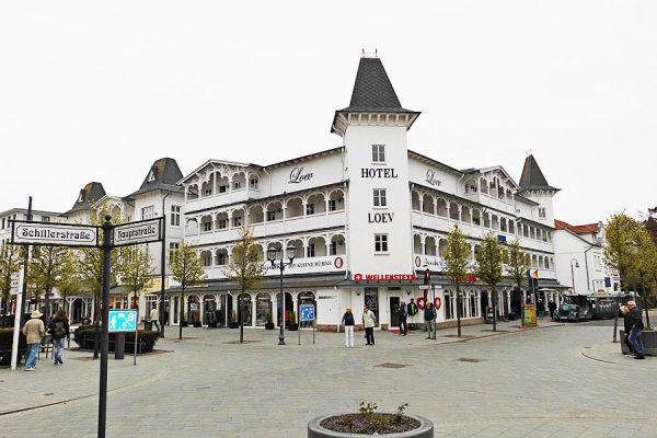 Loev Hotel & Spa im Ostseebad Binz auf Rügen - Bauprojekt der Bauinnung Rügen