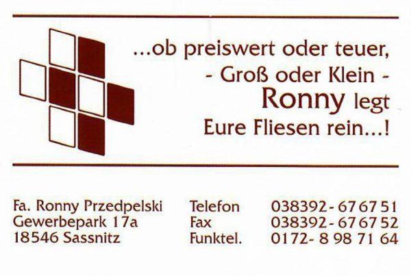 Ronny Przedpelski Fliesenleger