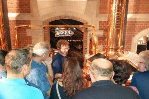 Besichtigung Brauerei